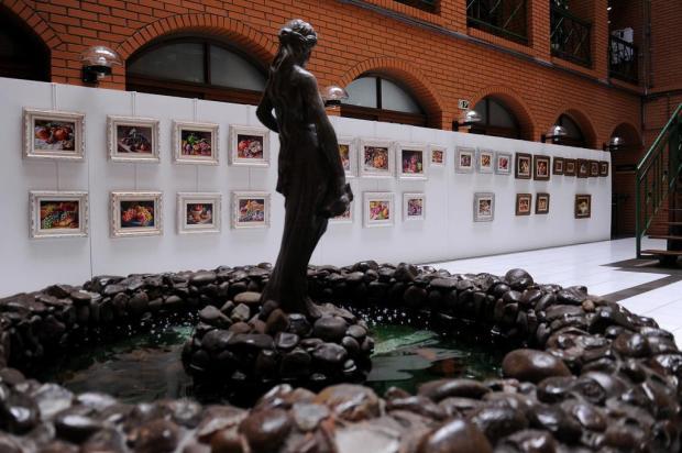 """Exposição """"Pequenos Formatos"""" tem visitação até 14 de março, em Caxias do Sul Marcelo Casagrande/Agencia RBS"""