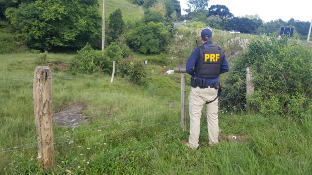 Jovem morre em acidente de trânsito em Carlos Barbosa Divulgação / PRF/PRF