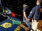 Foragido da Justiça é preso com três tijolos de maconha em Caxias do Sul PRF/Divulgação