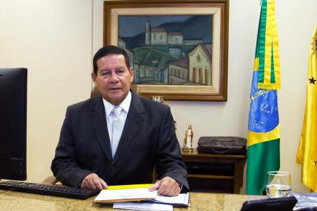 Saiba como será a visita do vice-presidente Mourão a Caxias do Sul (Romério Cunha/VPR)