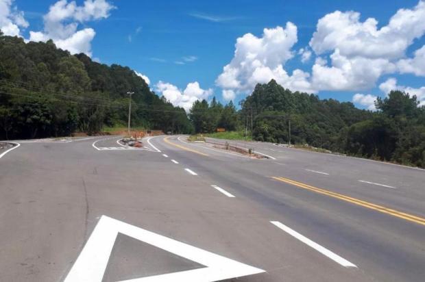 Estado anunciou retomada no recebimento de asfalto no último dia de contrato com fornecedora Luciano Rech/Divulgação