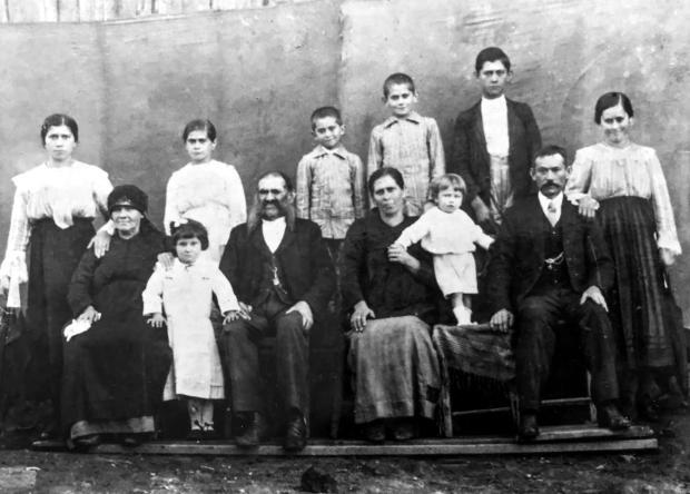 Encontro da família Guerra em Carlos Barbosa Acervo de família / divulgação/divulgação