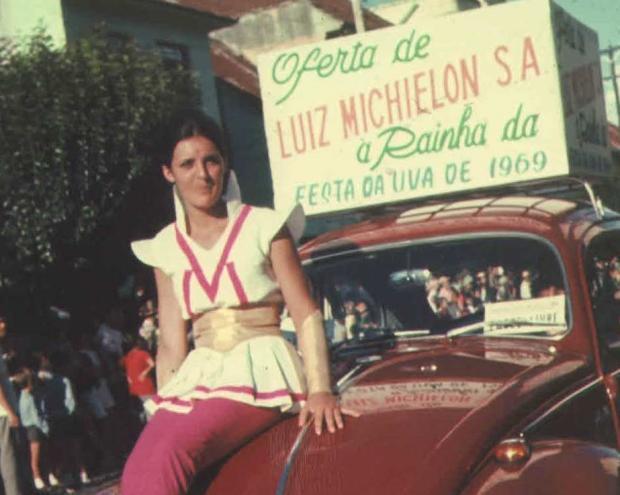 Um Fusca de presente na Festa da Uva de 1969 Acervo pessoal / divulgação/divulgação
