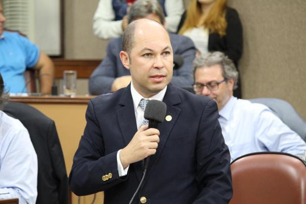 Vereador Elisandro Fiuza terá gabinete itinerante Gustavo Tamagno Martins / Divulgação/Divulgação