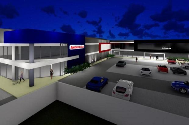 Novo supermercado Andreazza agregará salas comerciais Geovana Pinto Meneghetti/reprodução