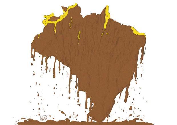 Nivaldo Pereira: da lama ao caos Luan Zuchi/