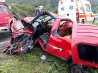 Acidente deixa dois feridos na ERS-122, em São Vendelino Bombeiros Voluntários de São Vendelino/Divulgação