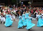 Desfile cênico e discursos marcam o encerramento da 32ª Festa da Uva, neste domingo, em Caxias Porthus Junior/Agencia RBS