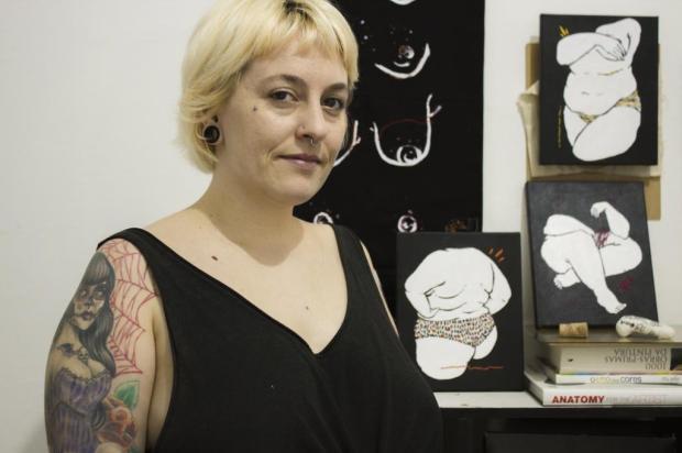 Exposição que retrata o corpo feminino em telas e bordados abre nesta quinta, em Caxias Sharizy Pezzi/Divulgação