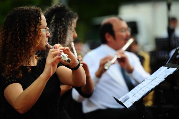 """Agenda: Orquestra Municipal de Sopros apresenta espetáculo """"Concertos de Verão"""", no domingo Porthus Junior/Agencia RBS"""