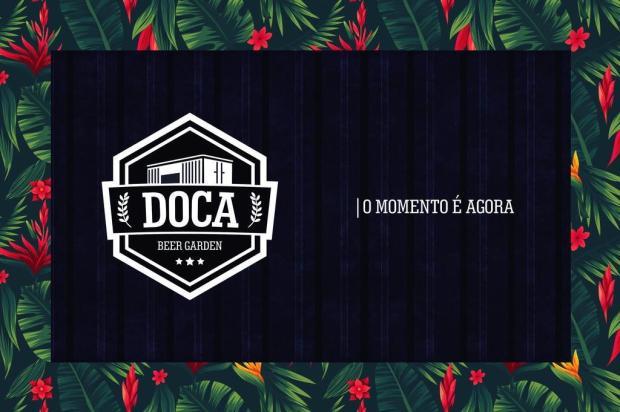 Caxias ganhará um beer garden no dia 29 de março Arte de Lidia Ribeiro/Divulgação
