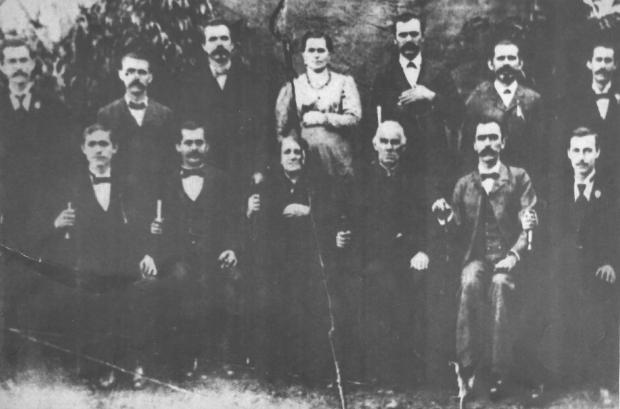 Encontro da família Grazziotin em Nova Prata Acervo de família / divulgação/divulgação