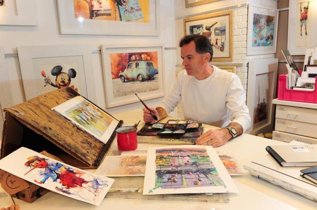 Artista serrano Antonio Giacomin será jurado do Potrer Art, na Argentina Porthus Junior/Agencia RBS