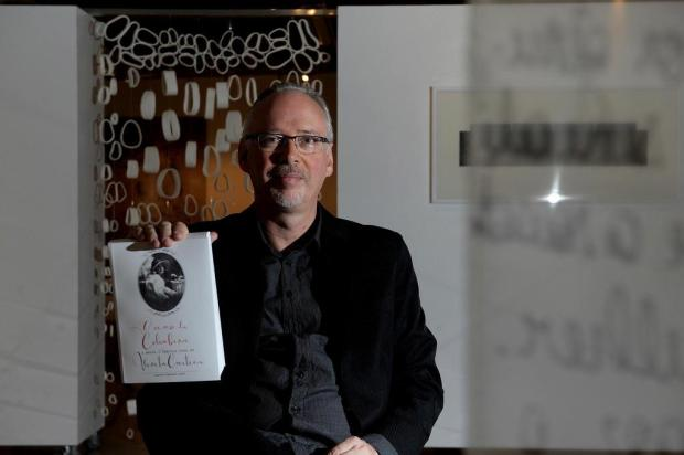 Marcos Fernando Kirst lança biografia sobre a poetisa Vivita Cartier Lucas Amorelli/Agencia RBS