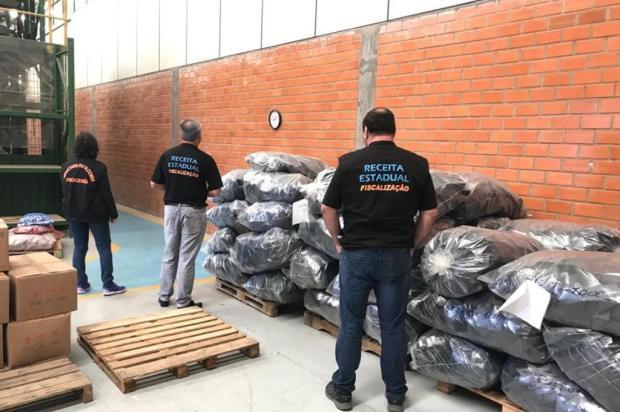 Operação busca recuperar R$ 30 milhões de impostos de empresa do ramo de plásticos da Serra Receita Estadual/Divulgação