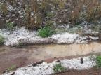 Municípios da Serra registram queda de granizo nesta sexta-feira Alécio Alba/Divulgação