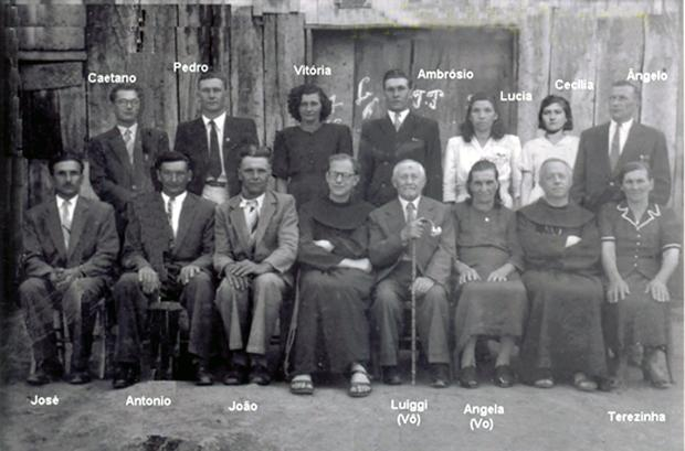 Família Finatto celebra origens italianas Acervo de família / divulgação/divulgação