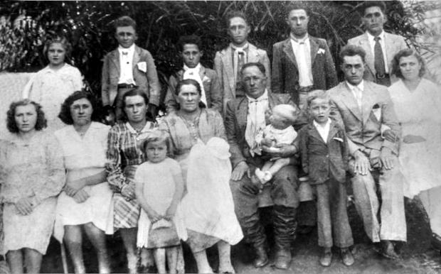 Encontro da família Fochesato em Ipê Acervo de família / divulgação/divulgação