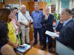 Pepe Vargas protocola na Assembleia projeto de criação de galeria Memória e Democracia Willian Schumacher/Divulgação