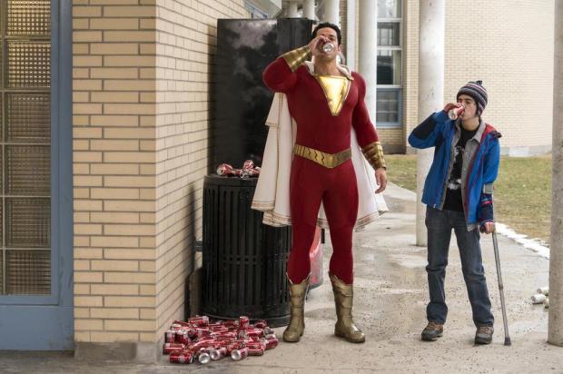 """""""Shazam!"""" diverte e dá frescor aos filmes de super-heróis Warner/Divulgação"""