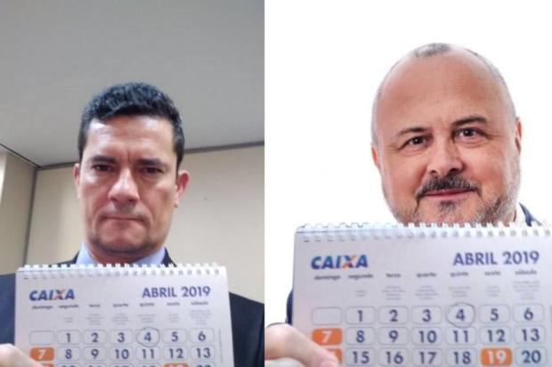 Ex-vice-prefeito de Caxias faz foto inspirado em Sergio Moro Twitter/Reprodução