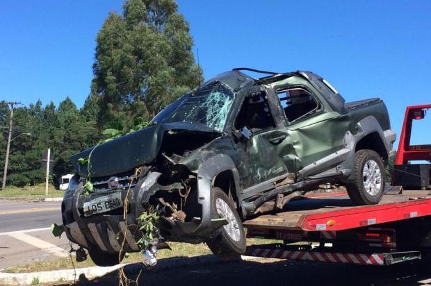 Motorista morre em acidente entre carro e caminhão em Caxias do Sul André Fiedler/Agencia RBS