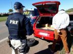 Detido com 300kg de maconha em Vacaria, adolescente deve ser internado em Caxias do Sul PRF / Divulgação/Divulgação