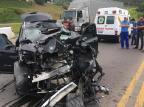 Mulher fica ferida em acidente na RSC-453 em Farroupilha Resgate Voluntário de Farroupilha/Divulgação