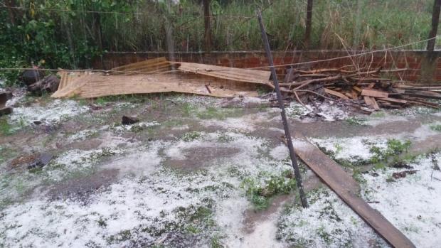 Em Farroupilha, temporal danifica 60 residências Janete Amorim / Divulgação/Divulgação