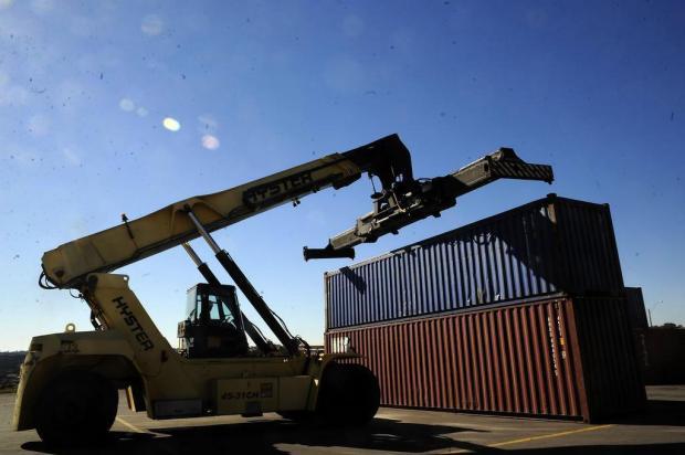 Porto Seco de Caxias está impedido de receber cargas Marcelo Casagrande/Agencia RBS