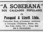 São Pelegrino: anúncios de outros tempos Centro de Memória da Câmara de Vereadores de Caxias do Sul / reprodução/reprodução
