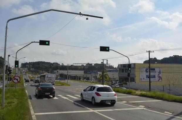 Pelo menos oito câmeras vão monitorar o trânsito para operação de semáforos inteligentes em Caxias Leonardo Portella/Divulgação