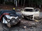 Polícia confirma uma morte e um ferido em acidente em Vila Seca, interior de Caxias do Sul Polícia Rodoviária Estadual de Farroupilha/Divulgação