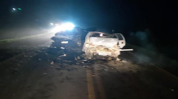Motorista de carro com placas de Caxias morre em acidente com cinco vítimas no Norte do Estado PRF / Divulgação/Divulgação