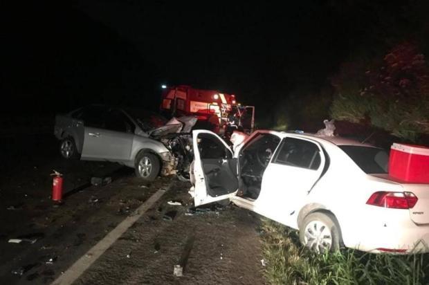 Acidente deixa três pessoas feridas na ERS-122, em São Sebastião do Caí Corpo de Bombeiros Voluntários de São Sebastião do Caí/Divulgação