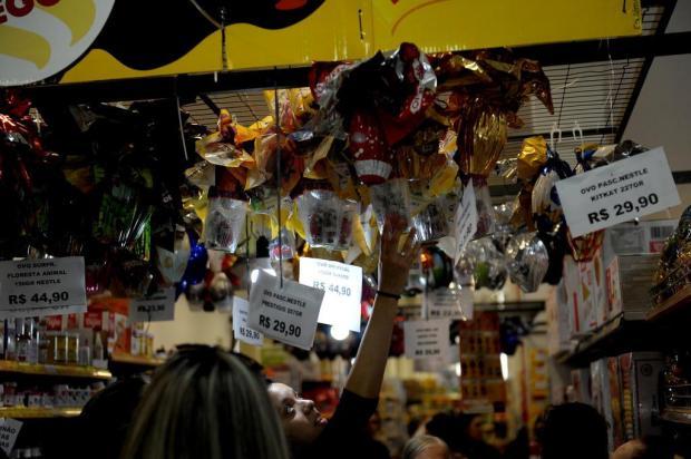 Procura por chocolates movimenta comércio caxiense Lucas Amorelli/Agencia RBS