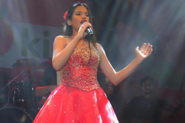 VÍDEO: Veja performance da cantora que venceu o Femaçã Kids, em Veranópolis Ivane Costella Bissani/Divulgação