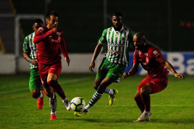 Intervalo: Ficou a sensação de que o Juventude poderia ter aberto vantagem contra o Vila Nova Porthus Junior/Agencia RBS