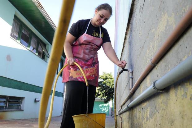 Obras tentam resolver interrupções de água na região do bairro Interlagos, em Caxias Antonio Valiente/Agencia RBS
