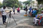 """Documentário """"Compro Sonhos"""", gravado na Praça Dante, estreia nesta sexta em Caxias Breno Dallas/Divulgação"""