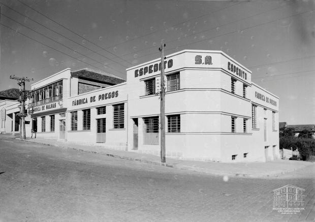 Espedito S.A. Indústria e Comércio em 1957 Studio Geremia / Arquivo Histórico Municipal João Spadari Adami, divulgação/Arquivo Histórico Municipal João Spadari Adami, divulgação