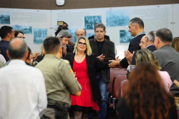 Promotora Sílvia Regina Becker Pinto recebe título de Cidadã Caxiense Porthus Junior/Agencia RBS