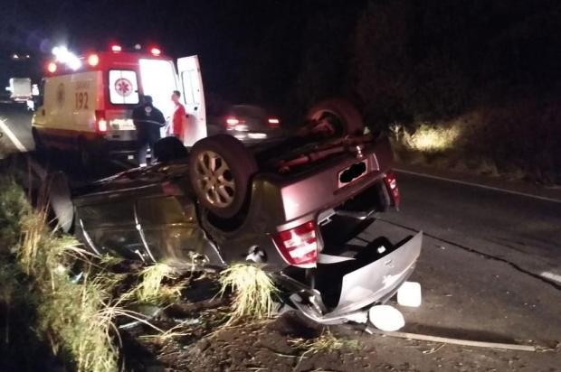 Carros se envolvem em acidentes após motorista desviar de saco de lixo na ERS-122 em Caxias Grupo Rodoviário de Farroupilha/Divulgação