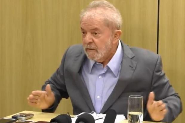 """Lula diz que sua obsessão é """"desmascarar"""" Sergio Moro Redes sociais/Reprodução"""