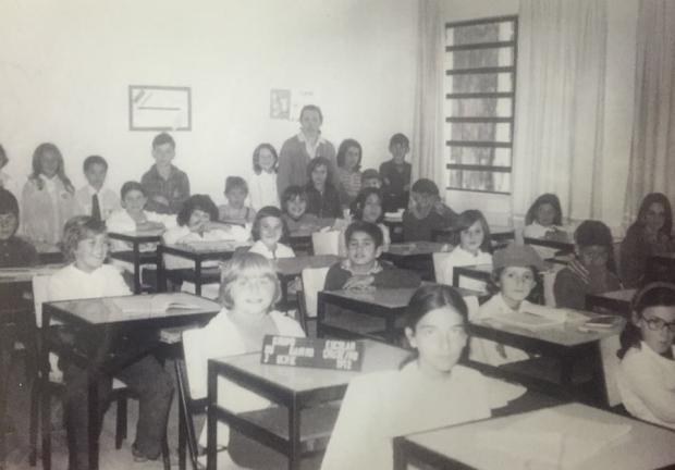 Escola Província de Mendoza em 1972 Acervo pessoal / divulgação/divulgação