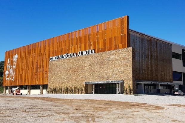 Nova fábrica da Cooperativa Vinícola Aurora é um brinde à sustentabilidade Daiane Zat/divulgação