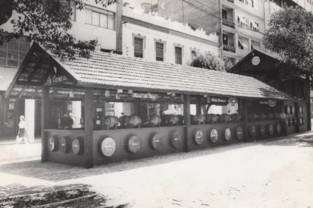 Ruas de Bento Gonçalves terão vinho encanado Divulgação/Arquivo Histórico de Bento Gonçalves