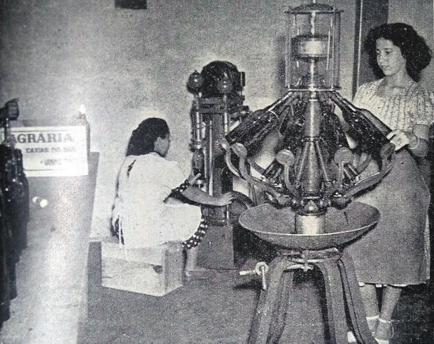 Luiz Heimann e o Conhaque Agrária em 1950 Agência RBS / reprodução/reprodução