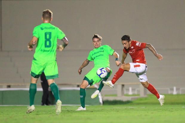 Jogadores do Juventude valorizam trabalho após classificação na Copa do Brasil Sebastião Nogueira/O Popular