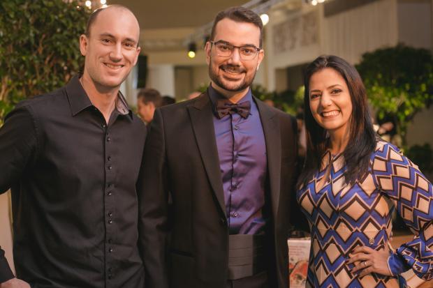 Em noite memorável, Manoel Valente celebrou em dose dupla no sábado Rafael Sartor, divulgação/